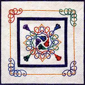 A Celtic Spring applique pattern
