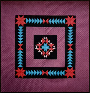 Star Spin Quilt -- gorgeous specially made Amish Quilts from