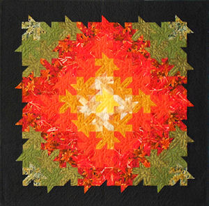 Color picture of Autumn Splendor wallhanging.