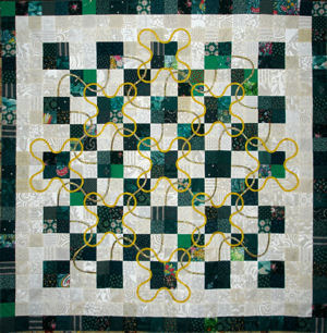 Lucky Four Patch quilt pattern