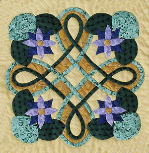 Picture of Block #3 from Celtic Style Floral Applique