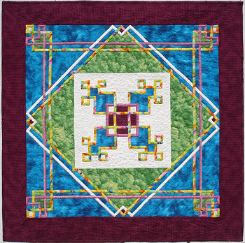 New version of Celtic Circuits quilt.