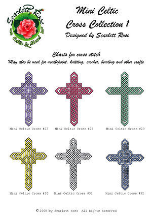 Cover of Mini Celtic Cross Collection 1 charts.