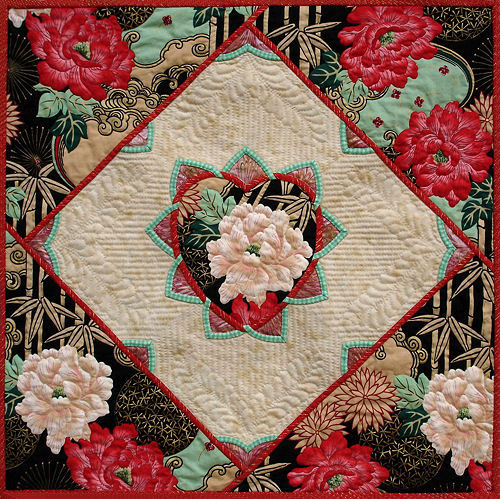 Flowers of the Orient wallhanging.