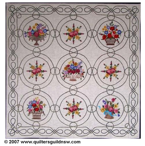 Celtic Windows quilt
