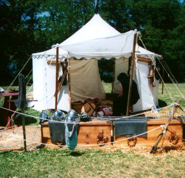 [Armorer's tent]