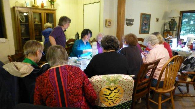 Group from my twilling class at Coram Ranch.