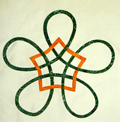 Mary Porath's Celtic Star block