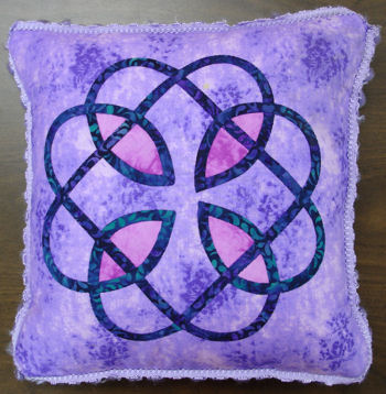 Another Celtic pillow.